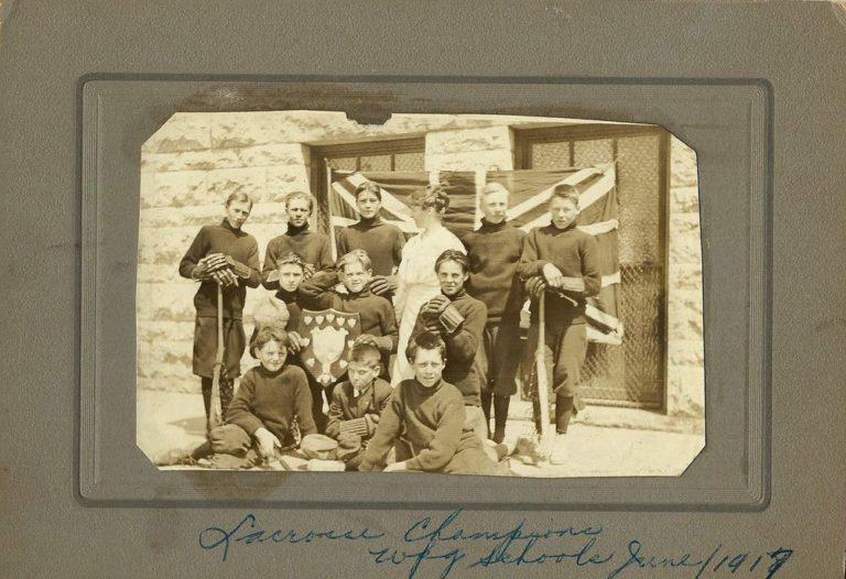 1917 Intermediate Schools Champions_