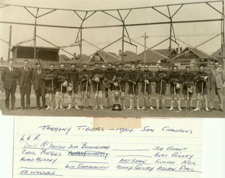 1924 Tammany Tigers_MB Senior Champions