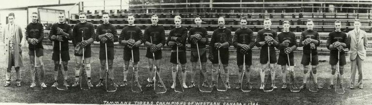 1926 Tammany Tigers_Western Canadian champions