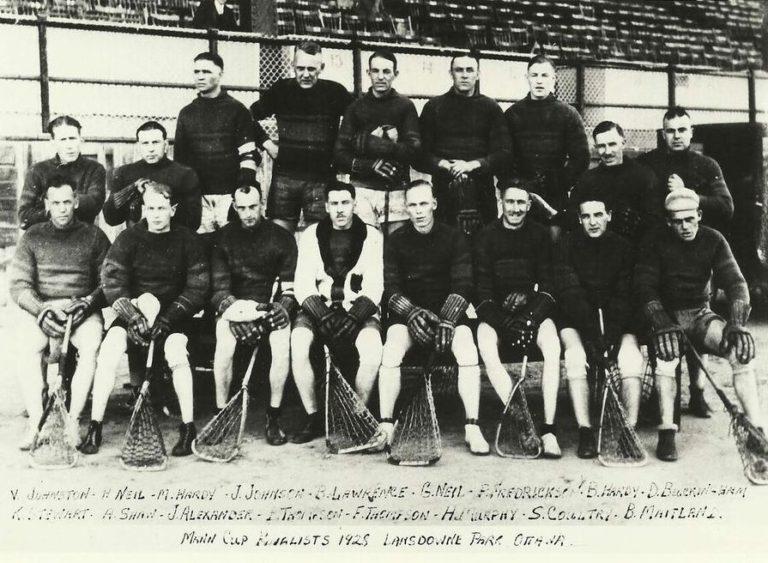 1928 Tammany Tigers_Mann Cup finalists