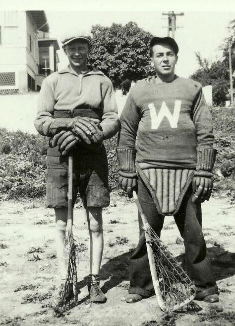 1932 Winnipegs_Gordon Lillymon & Vernon Butler