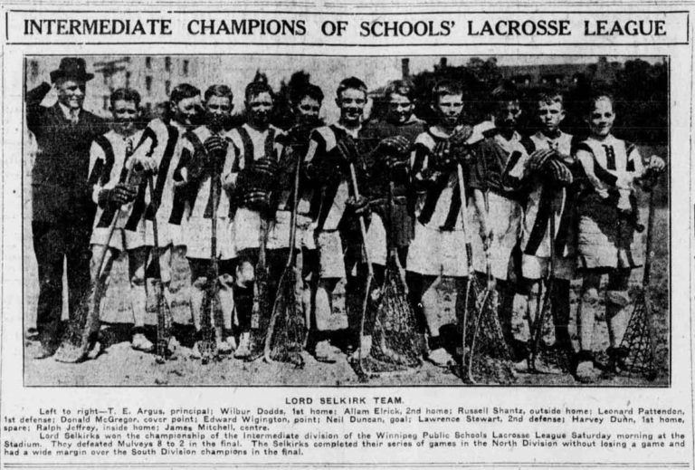 1922 Schools Intermediate champs