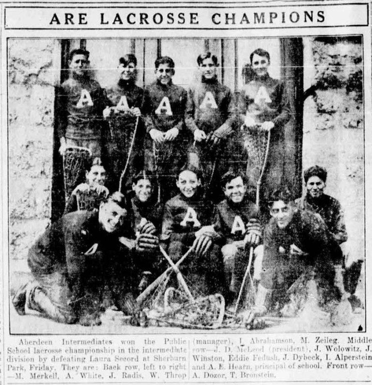 1926 Aberdeen PS champs
