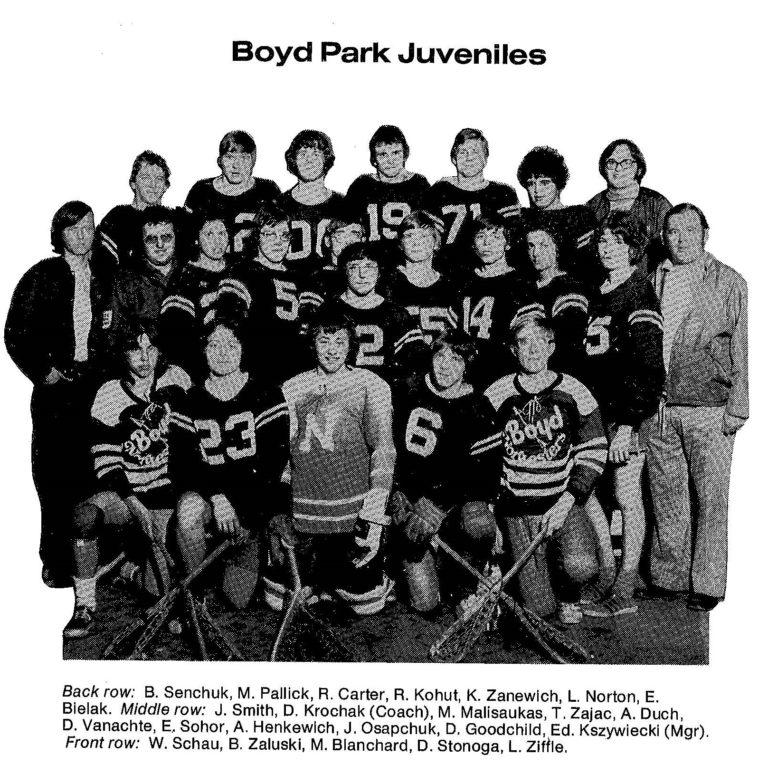 72 Boyd Park Juveniles