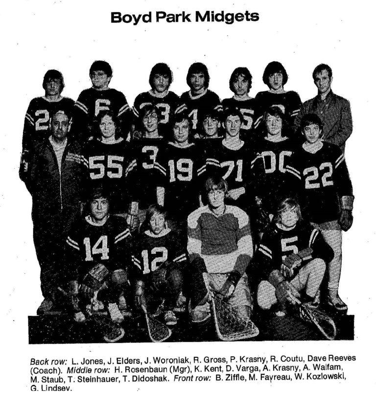 72 Boyd Park Midgets