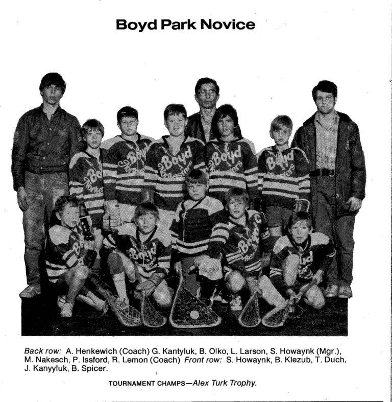 72 Boyd Park Novice