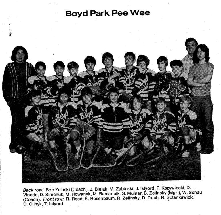 72 Boyd Park Pee Wee