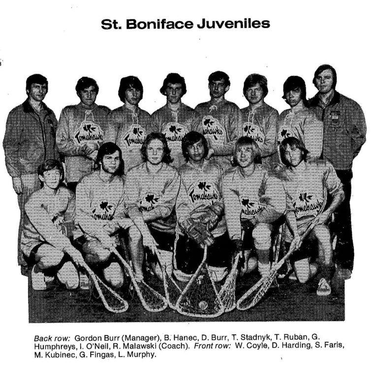72 St Boniface Juveniles