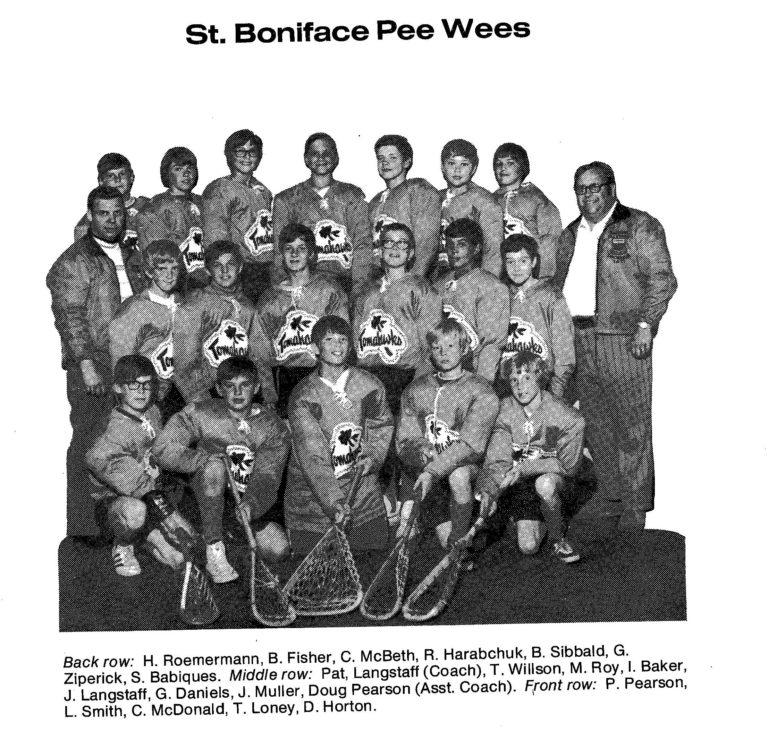 72 St Boniface Pee Wee