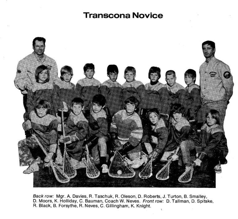 72 Transcona Novice