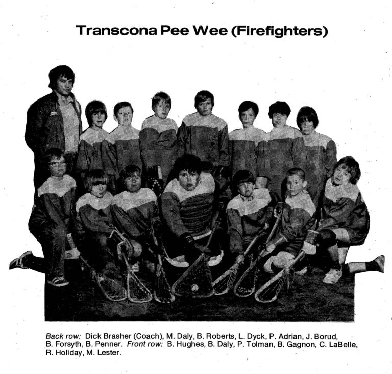 72 Transcona Pee Wee Firefighters
