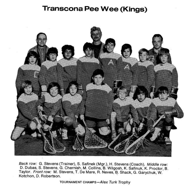 72 Transcona Pee Wee Kings