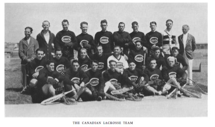 Canadian 1932 Olympic team